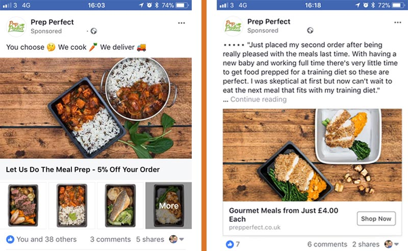 Prep Perfect FB Ads2